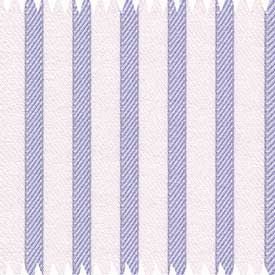 White/Blue Striped Egyptian Cotton Shirt