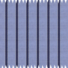 Lt. Blue/Navy Striped Egyptian Cotton Shirt With Neck Tie