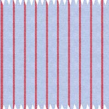 Light Blue Shirt With Red Stripes