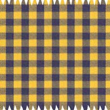 Yellow Flannel Checked Dress Shirt