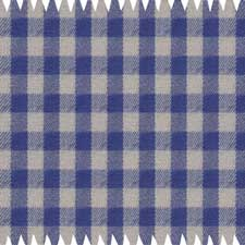 Blue-Tan Checked Flannel Shirt