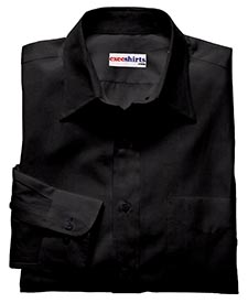 Black Deluxe Linen Shirt With Neck Tie