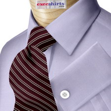 Custom Blue Oxford Dress Shirt
