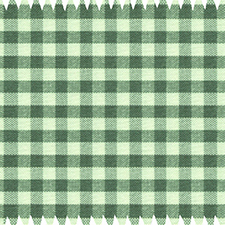 Dark Green Checked Cotton Dress Shirts