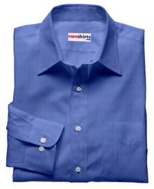 Lt. Blue Linen Shirt With Neck Tie
