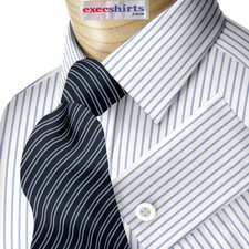 Pinstripe Dress Shirts Execshirts