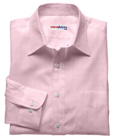 Pink Linen Shirt With Neck Tie