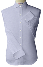 Quarter Spread Collar Pinpoint Dress Shirts