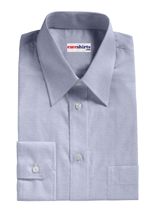 Traditional Collar Custom Pinpoint Dress Shirts