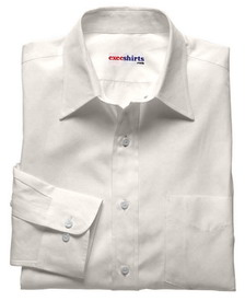 White Linen Shirt With Neck Tie