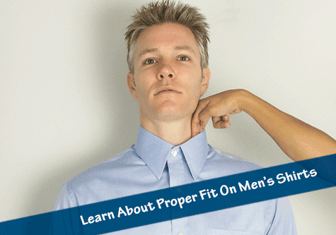 Learn How A Men's Shirt Should Fit