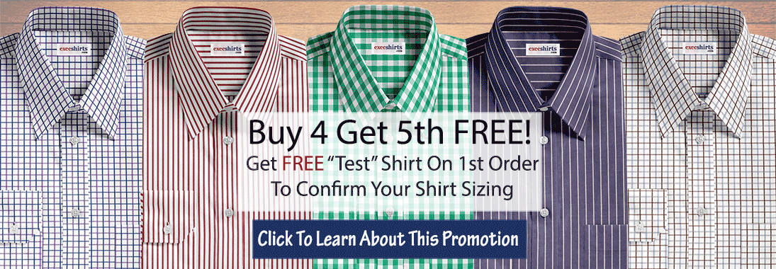 Men's Dress Shirt Promotion