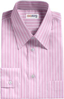 Pink Striped Egyptian Cotton Shirt