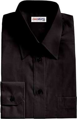 Black Oxford Dress Shirt