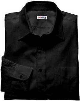 Men's Black Deluxe Linen Shirt