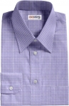 Blue Check Weaved Dress Shirt 2