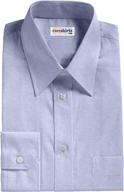 Blue Oxford Dress Shirts