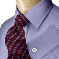 Blue Oxford Dress Shirts 2