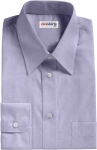 Blue Deluxe Oxford Dress Shirt