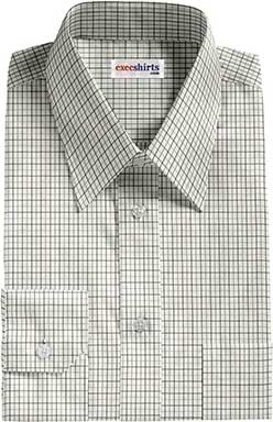 Black/Grey Checked Dress Shirts