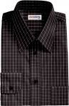 Checked Black/White Dress Shirt