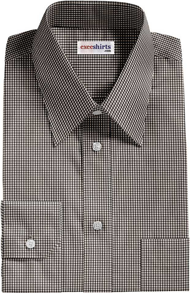 Black Checked Dress Shirt 2