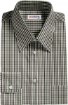 Black/Gray Checked Dress Shirt
