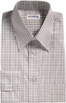 Checked Grey Dress Shirt