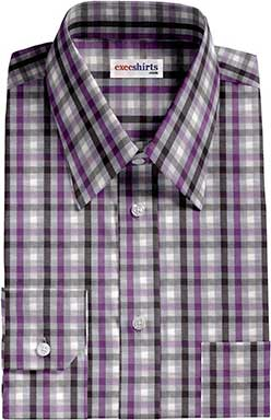 Checked Multi Colored Dress Shirt 3