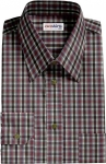 Checked Multi Colored Dress Shirt 7