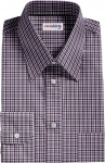 Purple/Black Checked Dress Shirt