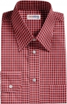 Checked Red/White Dress Shirt