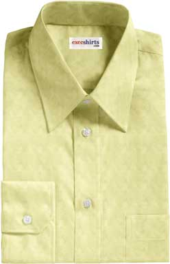 Light Yellow Oxford Dress Shirt