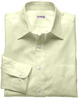 Men's Cream Deluxe Linen Shirt