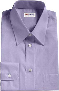 Lt. Blue Egyptian Cotton Broadcloth Dress Shirts