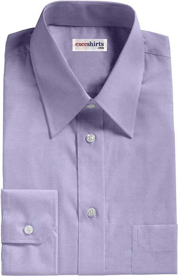 Lt blue egyptian cotton broadcloth dress shirt execshirts for Mens egyptian cotton dress shirts