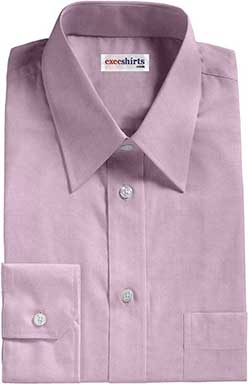 Purple Egyptian Cotton Pinpoint Dress Shirts