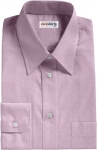 Purple Egyptian Cotton Pinpoint Dress Shirt