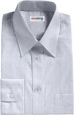 Lt. Blue Egyptian Cotton Pinpoint Dress Shirts
