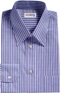 Blue Striped Egyptian Cotton Shirts