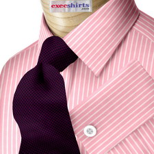 Pink Striped Egyptian Cotton Shirts