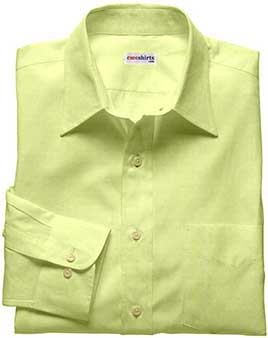 Cream-Yellow Linen Shirt