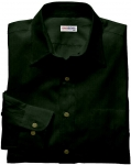 Dark Green Linen Shirt
