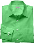 Lt. Green Linen Shirt