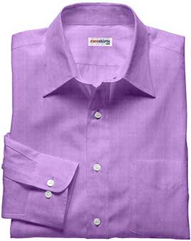 Lt. Purple Linen Shirt