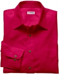 Purple-Red Linen Shirt