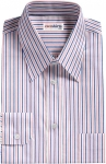 Blue/Pink Striped Dress Shirt