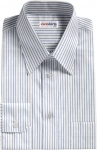 Lt. Blue Pinstripe Dress Shirt