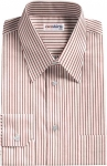 Red Pinstripe Dress Shirt