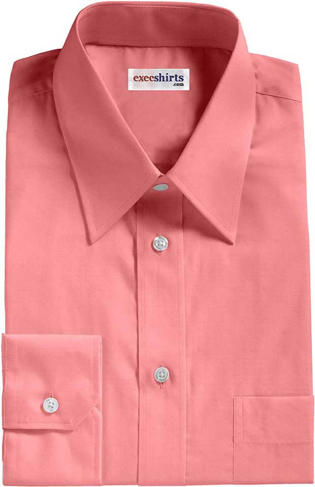 Pink Oxford Dress Shirt